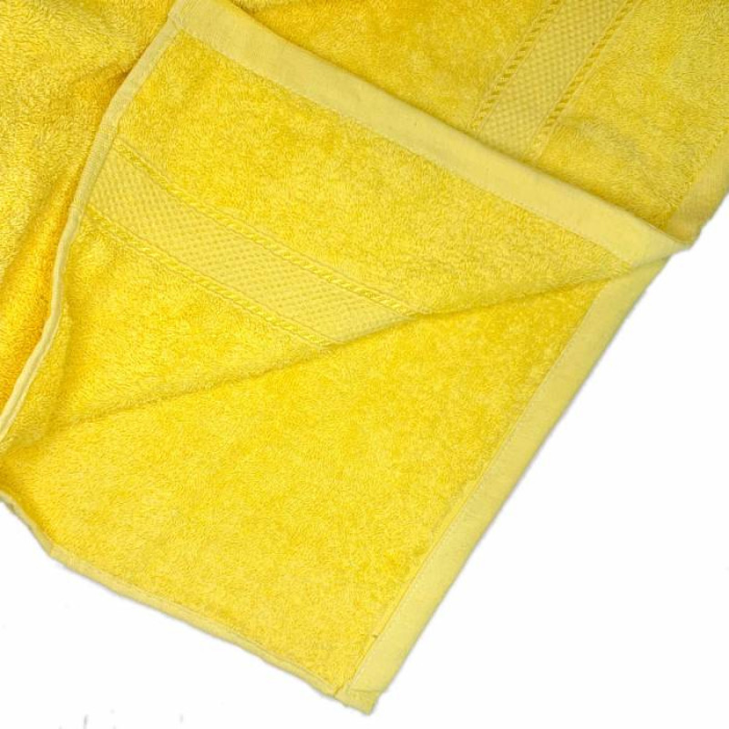 Полотенце жёлтое  - фото 3