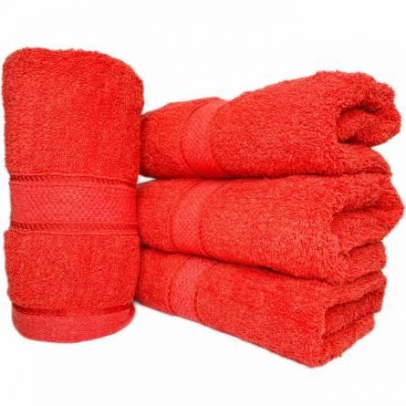 Полотенце красное - фото 1