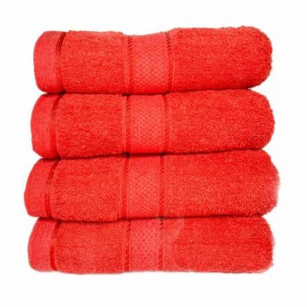 Полотенце красное - фото 2