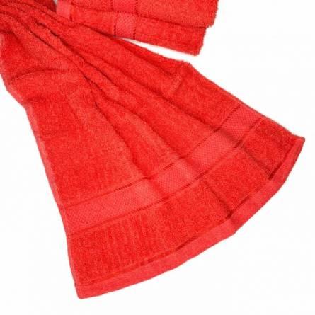Полотенце красное - фото 3