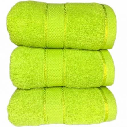 полотенце салатовое - фото 2