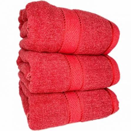 Полотенце бордо - фото 1