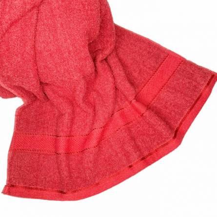 Полотенце бордо - фото 4