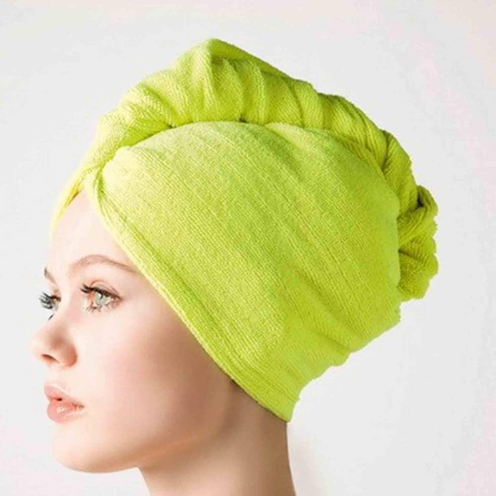 Полотенце для волос как безопасная альтернатива сушке феном