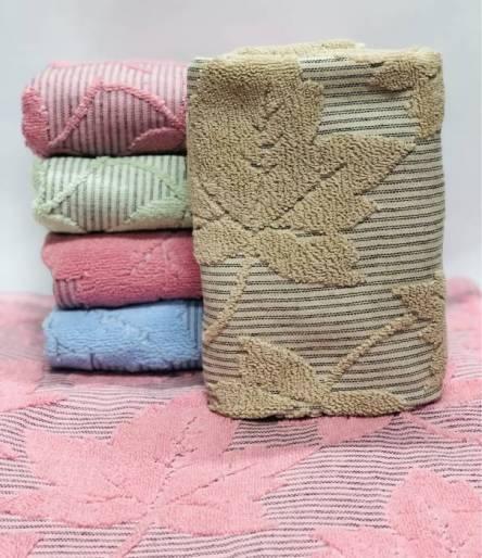 Фото  товара Полотенце кленовый  листик лен