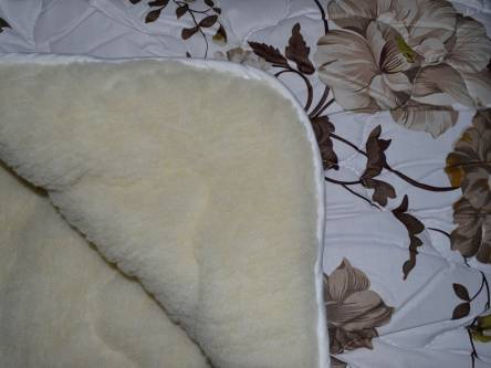 Евро одеяло мех на одну сторону - фото 1