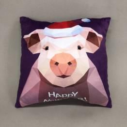 Фото  товара Декоративные подушки Свинка
