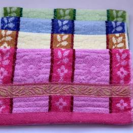 Фото  товара Кухонные полотенца золотая полоска