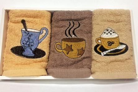 Набір кухоних рушників Кава - фото 2