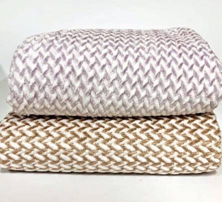 Плед двуспальный Плетёнка - фото 1