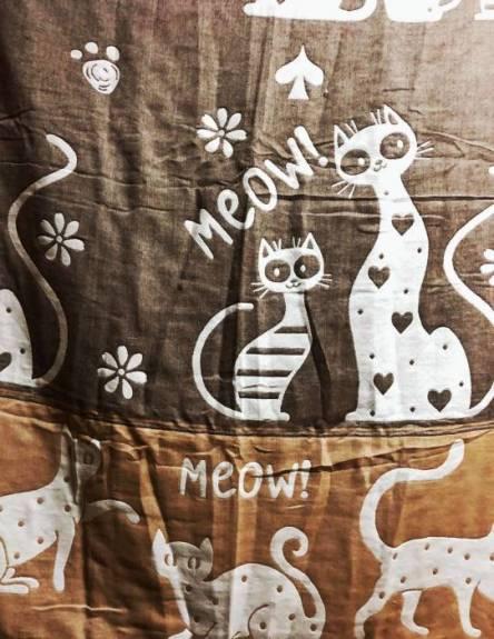Простынь Лён Коты - фото 5