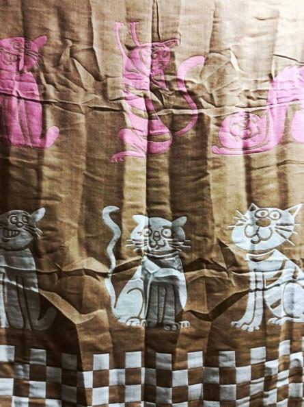 Простынь Лён Коты - фото 7