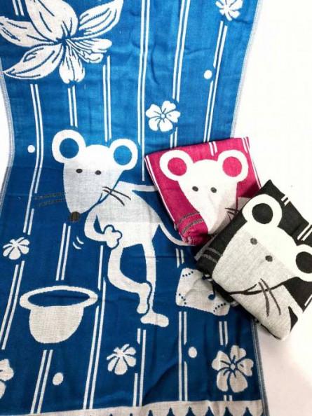 Кухонные полотенца Мыши лён - фото 1