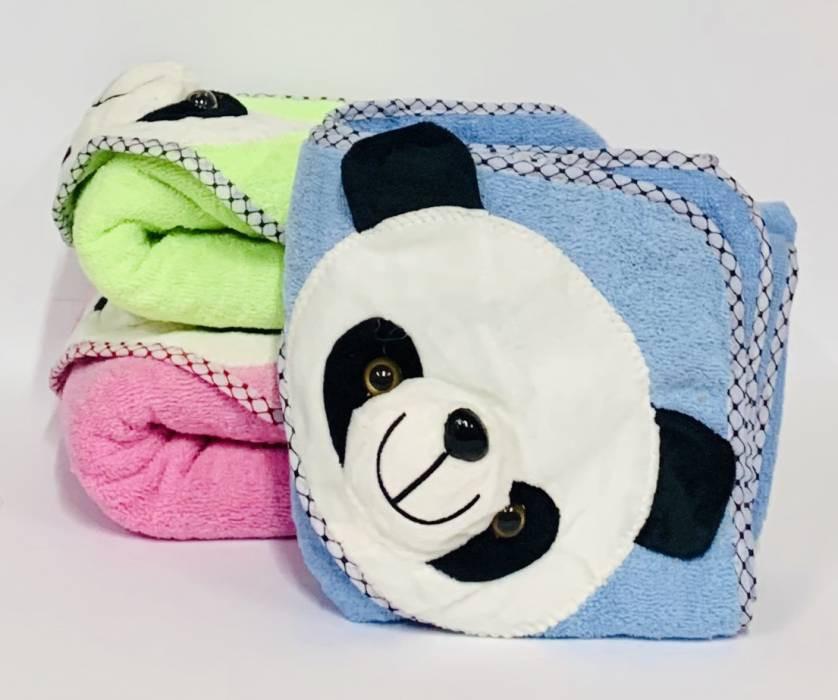 Полотенце с капюшоном – уют и забота о малыше