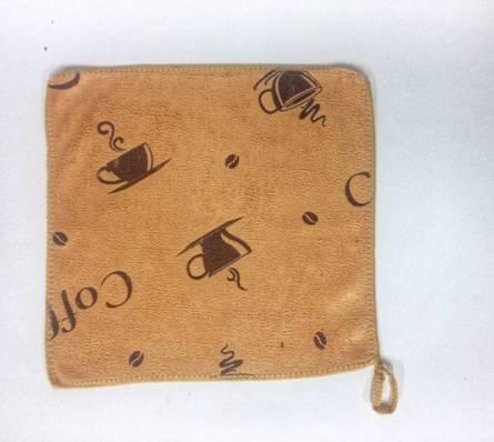 Кухонні серветки кава мікрофібра - фото 2