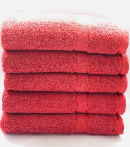 Полотенце бордо - фото 2
