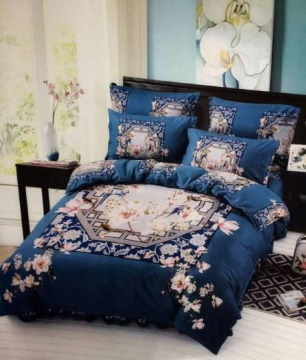 Комплект постельного белья бамбук евро в коробке - фото 1