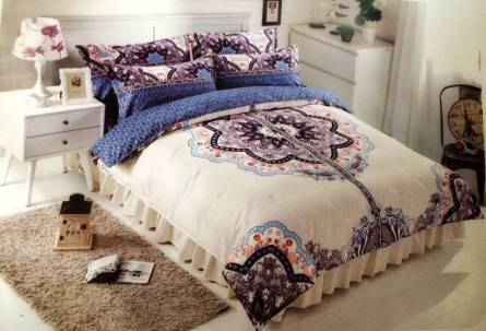 Комплект постельного белья бамбук евро в коробке - фото 8