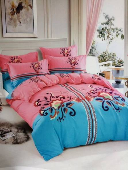 Комплект постельного белья бамбук евро в коробке - фото 9