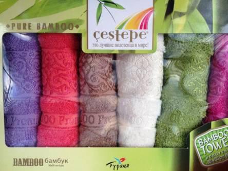 Бамбуковые кухонные полотенца Турция - фото 2