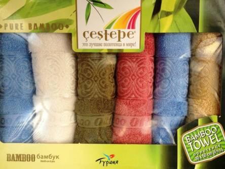 Бамбуковые кухонные полотенца Турция - фото 3