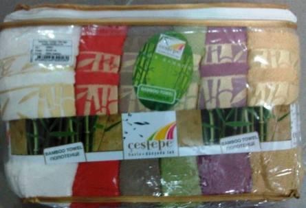 Бамбуковые полотенца Золото - фото 3