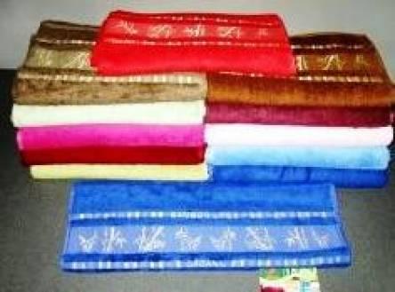 Бамбуковые полотенца Золото - фото 4