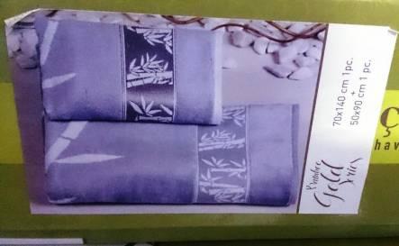 Бамбуковые велюровые полотенца Голд - фото 4