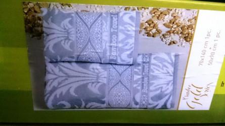 Бамбуковые велюровые полотенца Голд - фото 3