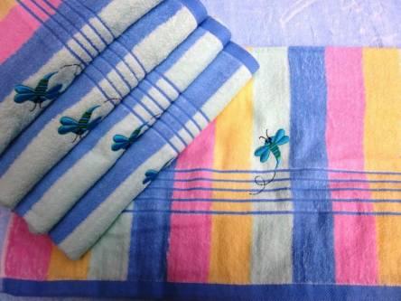 Фото  товара Банное полотенце Радуга