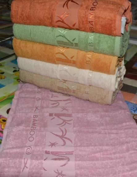 Фото  товара Банные полотенца Бамбук-01