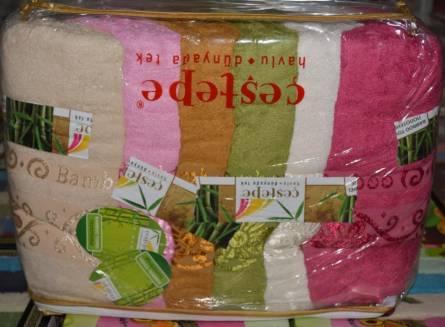 Фото  товара Банные полотенца Бамбук 17-13