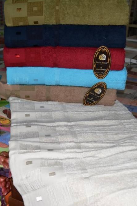 Фото  товара Банные полотенца Квадратик