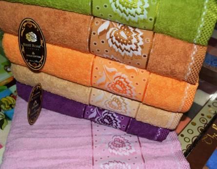 Фото  товара Банные полотенца Листочек