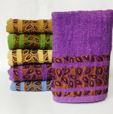 Фото  товара Банные полотенца Мелкий Листик