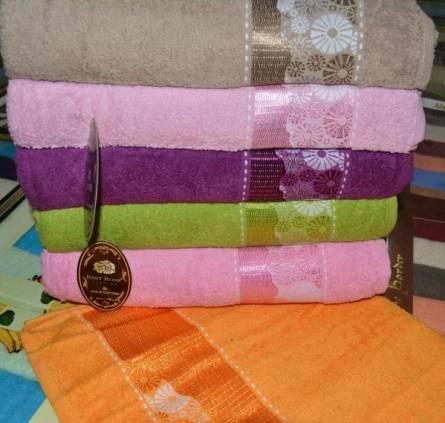 Фото  товара Банные полотенца Ромашки