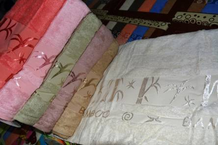 Фото  товара Банные полотенца Софт Бамбук 17-02