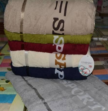 Полотенца Спорт Vip cotton - фото 2