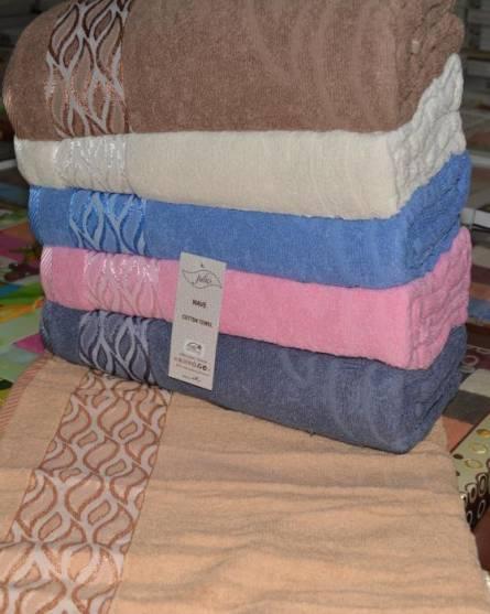 Фото  товара Банные полотенца Светлая Волна