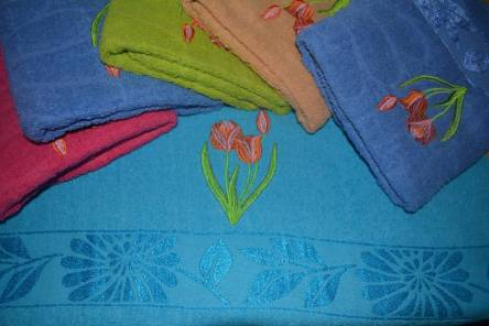 Фото  товара Банные полотенца Три Тюльпаны