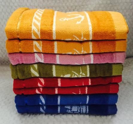 Банные полотенца Якорь Велюр - фото 2