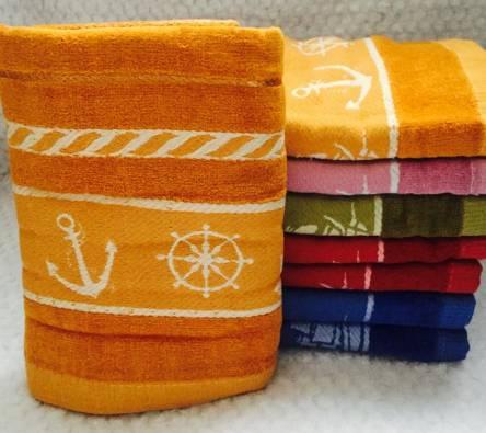 Банные полотенца Якорь Велюр - фото 1