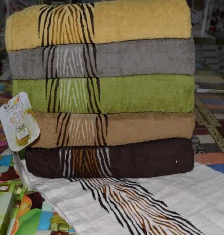 Рушники зебра-01 Vip cotton - фото 1