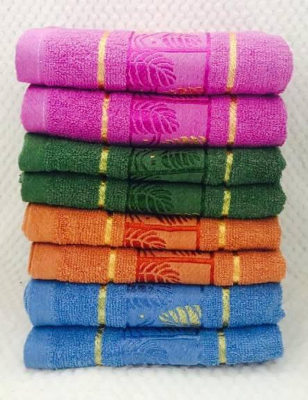 Фото  товара Банные полотенца Золотой Листик.