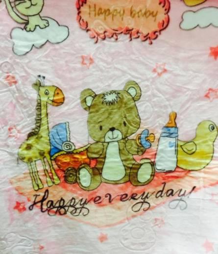 Фото  товара Детские пледики Мишка