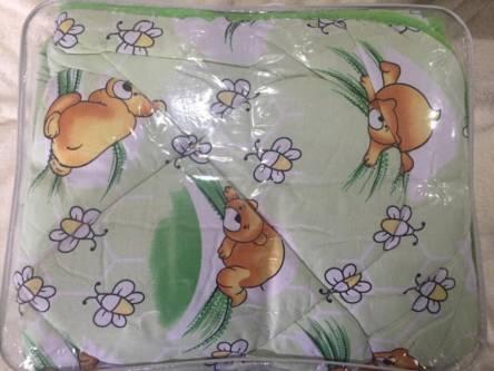 Фото  товара Детское одеяло Хлопок с овечьей шерсти
