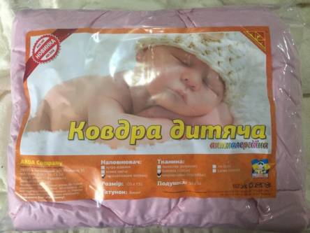 Детское одеяло однотонное (силикон)+ подушка - фото 2