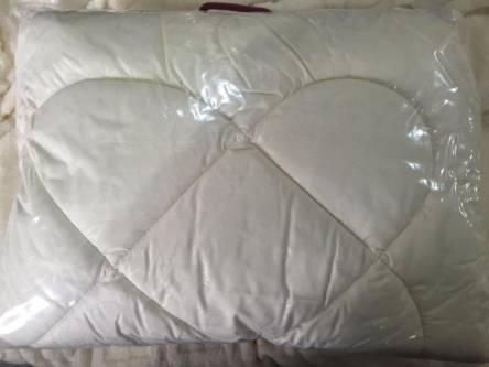 Детское одеяло однотонное (силикон)+ подушка - фото 1