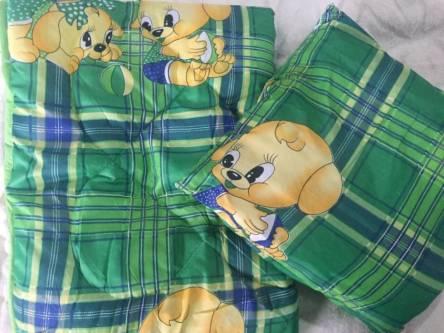 Детское одеяло силиконизированное волокно + подушка  - фото 1