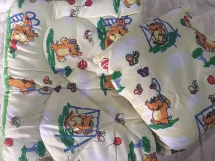 Детское одеяло силиконизированное волокно + подушка  - фото 3